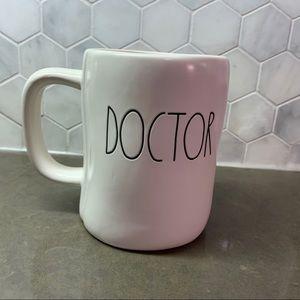 Rae Dunn Doctor / Hero Mug Double Sided NEW